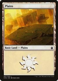 Plains (287), Magic: The Gathering, Commander Anthology