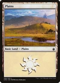 Plains (288), Magic: The Gathering, Commander Anthology