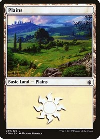 Plains (289), Magic: The Gathering, Commander Anthology