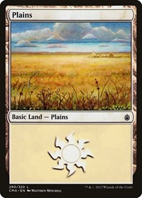 Plains (290), Magic: The Gathering, Commander Anthology