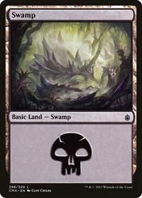 Swamp (298), Magic: The Gathering, Commander Anthology