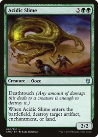 Acidic Slime, Magic: The Gathering, Commander Anthology