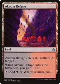 Akoum Refuge, Magic: The Gathering, Commander Anthology