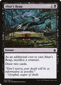 Altar's Reap, Magic: The Gathering, Commander Anthology