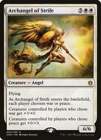 Archangel of Strife, Magic: The Gathering, Commander Anthology