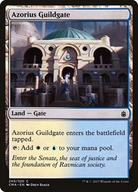 Azorius Guildgate, Magic: The Gathering, Commander Anthology