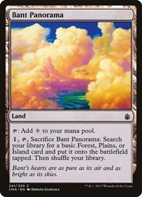 Bant Panorama, Magic: The Gathering, Commander Anthology