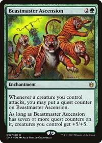 Beastmaster Ascension, Magic: The Gathering, Commander Anthology