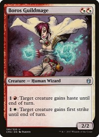 Boros Guildmage, Magic: The Gathering, Commander Anthology