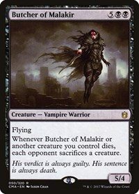 Butcher of Malakir, Magic: The Gathering, Commander Anthology
