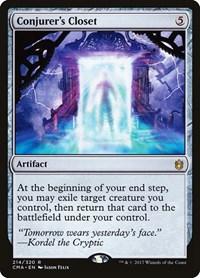 Conjurer's Closet, Magic: The Gathering, Commander Anthology