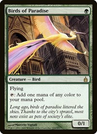 Birds of Paradise, Magic: The Gathering, Ravnica: City of Guilds