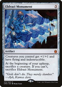 Eldrazi Monument, Magic: The Gathering, Commander Anthology