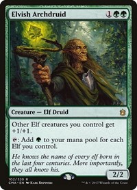 Elvish Archdruid, Magic: The Gathering, Commander Anthology