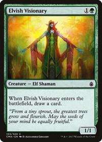 Elvish Visionary, Magic: The Gathering, Commander Anthology