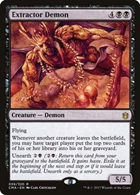 Extractor Demon, Magic: The Gathering, Commander Anthology