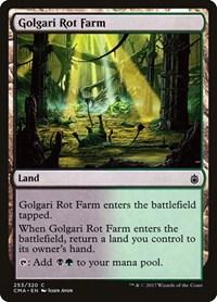 Golgari Rot Farm, Magic: The Gathering, Commander Anthology