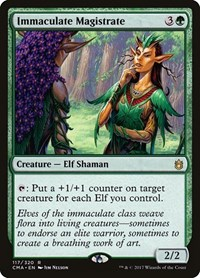 Immaculate Magistrate, Magic: The Gathering, Commander Anthology