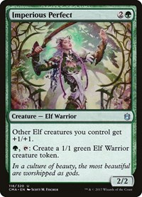 Imperious Perfect, Magic: The Gathering, Commander Anthology