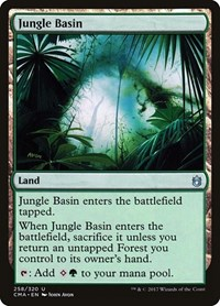Jungle Basin, Magic: The Gathering, Commander Anthology