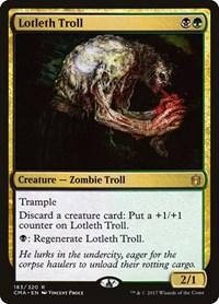 Lotleth Troll, Magic, Commander Anthology