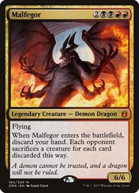 Malfegor, Magic: The Gathering, Commander Anthology
