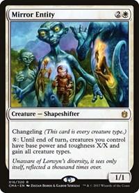 Mirror Entity, Magic: The Gathering, Commander Anthology