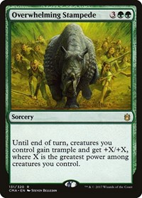 Overwhelming Stampede, Magic: The Gathering, Commander Anthology
