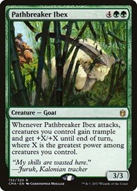 Pathbreaker Ibex, Magic: The Gathering, Commander Anthology