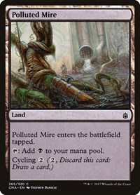 Polluted Mire, Magic: The Gathering, Commander Anthology