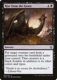 Rise from the Grave, Magic: The Gathering, Commander Anthology