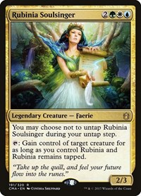 Rubinia Soulsinger, Magic: The Gathering, Commander Anthology
