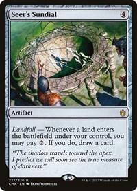 Seer's Sundial, Magic: The Gathering, Commander Anthology