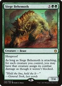 Siege Behemoth, Magic: The Gathering, Commander Anthology