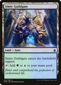 Simic Guildgate, Magic: The Gathering, Commander Anthology