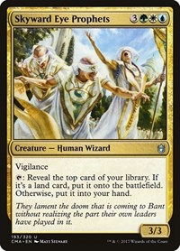 Skyward Eye Prophets, Magic: The Gathering, Commander Anthology