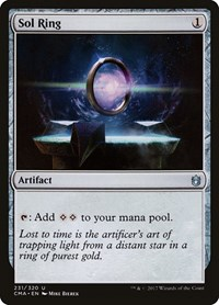 Sol Ring, Magic: The Gathering, Commander Anthology