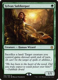 Sylvan Safekeeper, Magic: The Gathering, Commander Anthology
