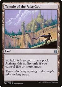 Temple of the False God, Magic: The Gathering, Commander Anthology