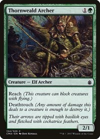 Thornweald Archer, Magic, Commander Anthology