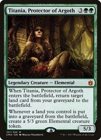 Titania, Protector of Argoth, Magic: The Gathering, Commander Anthology