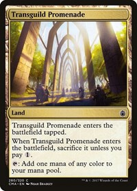 Transguild Promenade, Magic: The Gathering, Commander Anthology