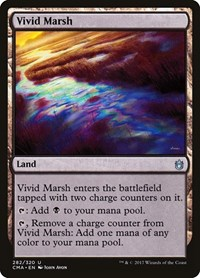 Vivid Marsh, Magic: The Gathering, Commander Anthology