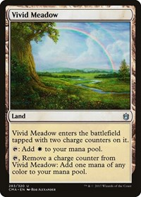 Vivid Meadow, Magic: The Gathering, Commander Anthology