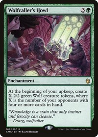 Wolfcaller's Howl, Magic: The Gathering, Commander Anthology