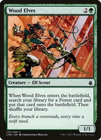 Wood Elves, Magic: The Gathering, Commander Anthology