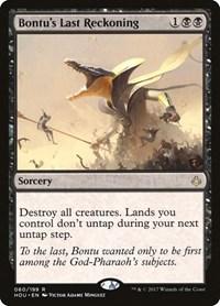 Bontu's Last Reckoning, Magic: The Gathering, Hour of Devastation
