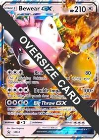 Bewear GX - SM34 (Black Star Promos), Pokemon, Jumbo Cards