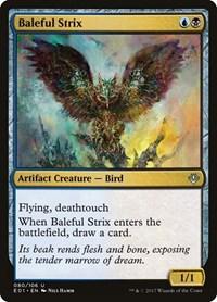 Baleful Strix, Magic: The Gathering, Archenemy: Nicol Bolas