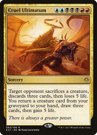 Cruel Ultimatum, Magic: The Gathering, Archenemy: Nicol Bolas